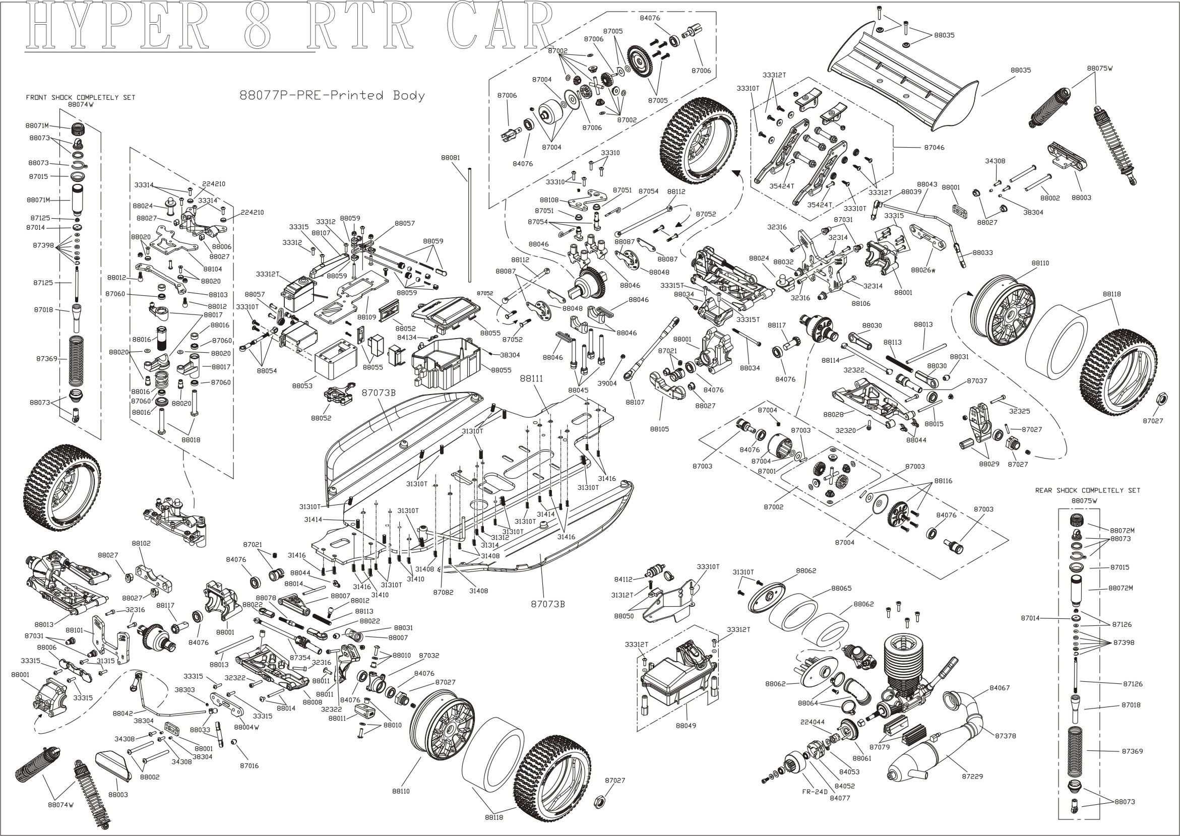Images About Exploded Technical Drawings